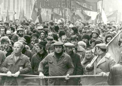 Manifestazione operai