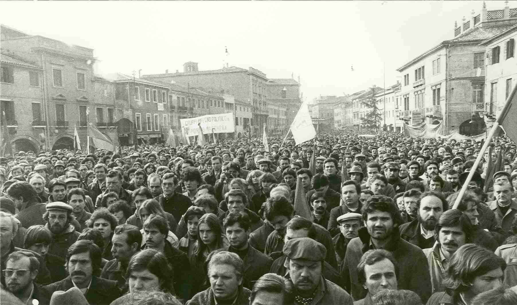 Manifestazione operaia