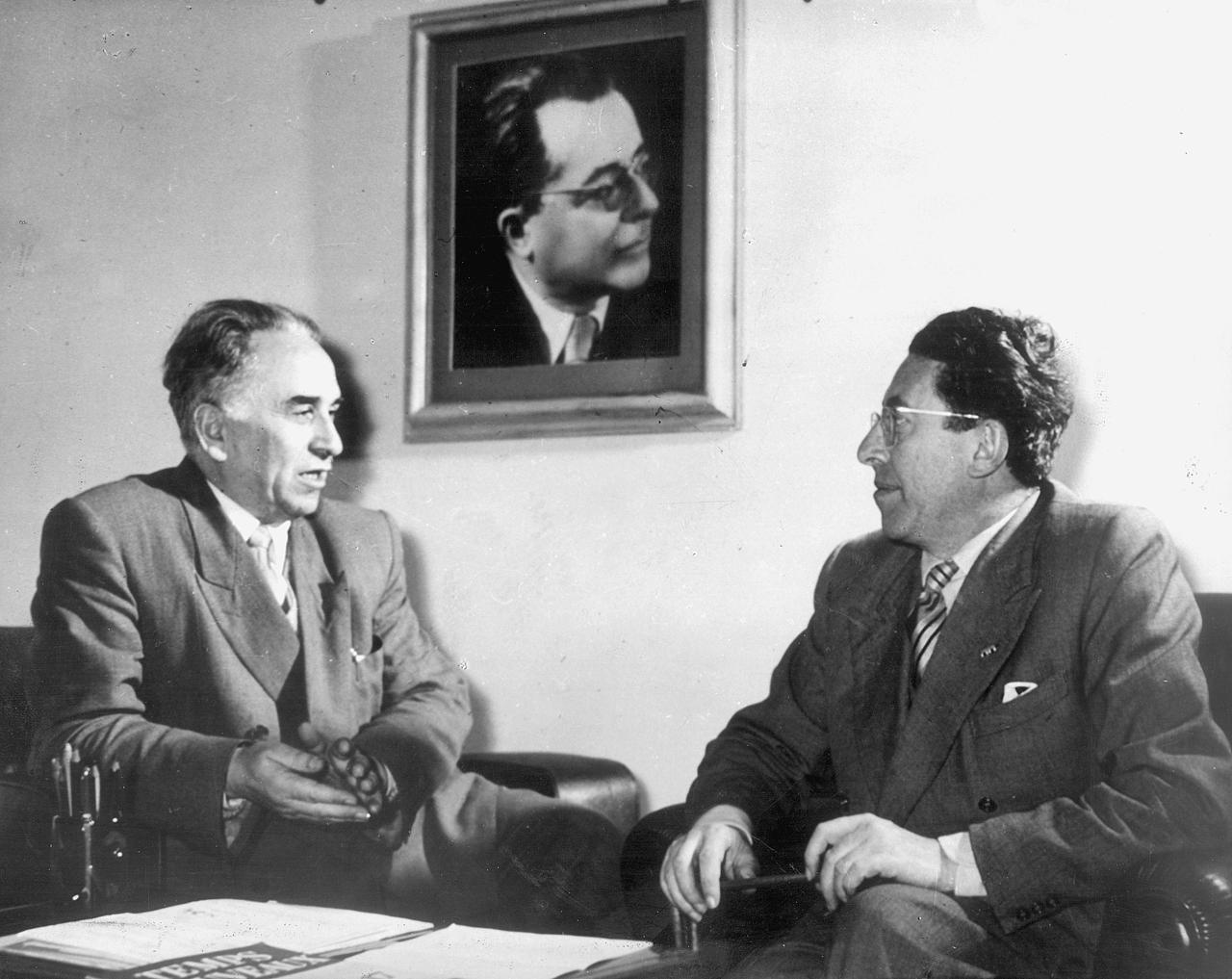 Luigi Longo Pietro Secchia
