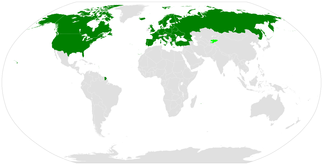 Paesi Firmatari Open Skies