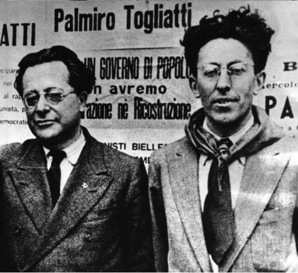 Palmiro Togliatti e Pietro Secchia