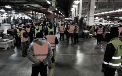 Sciopero lavoratori TNT