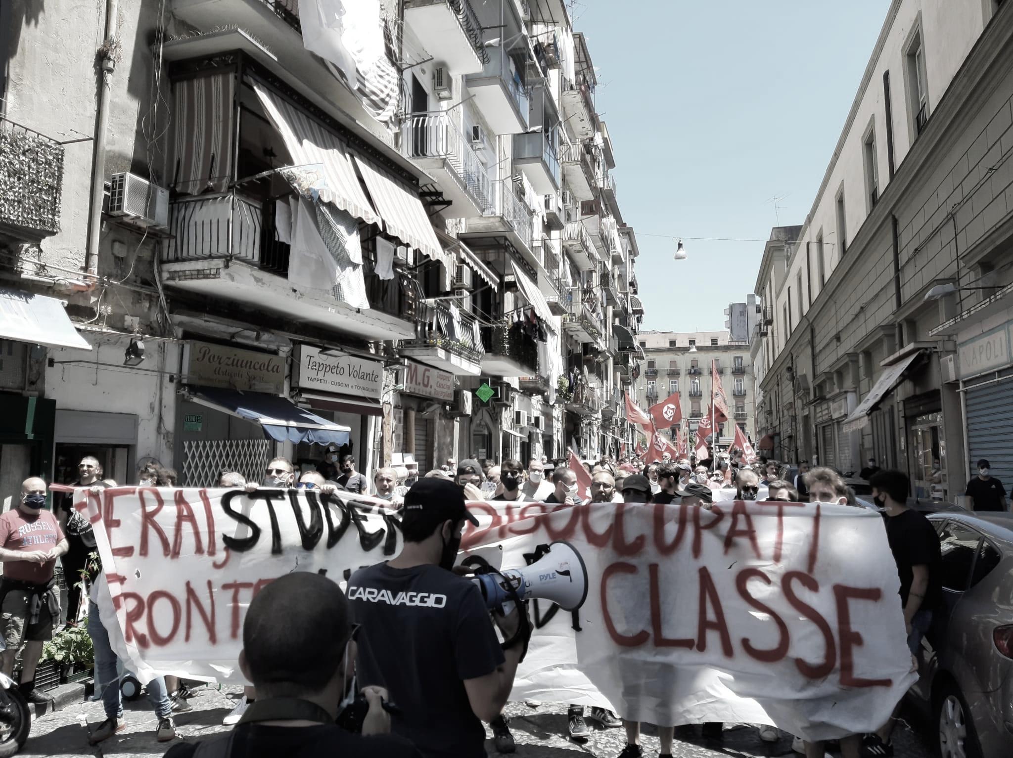 Fronte Unico di Classe 6 giugno Napoli