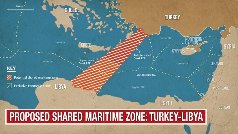 Zona marittima condivisa Turchia-Libia