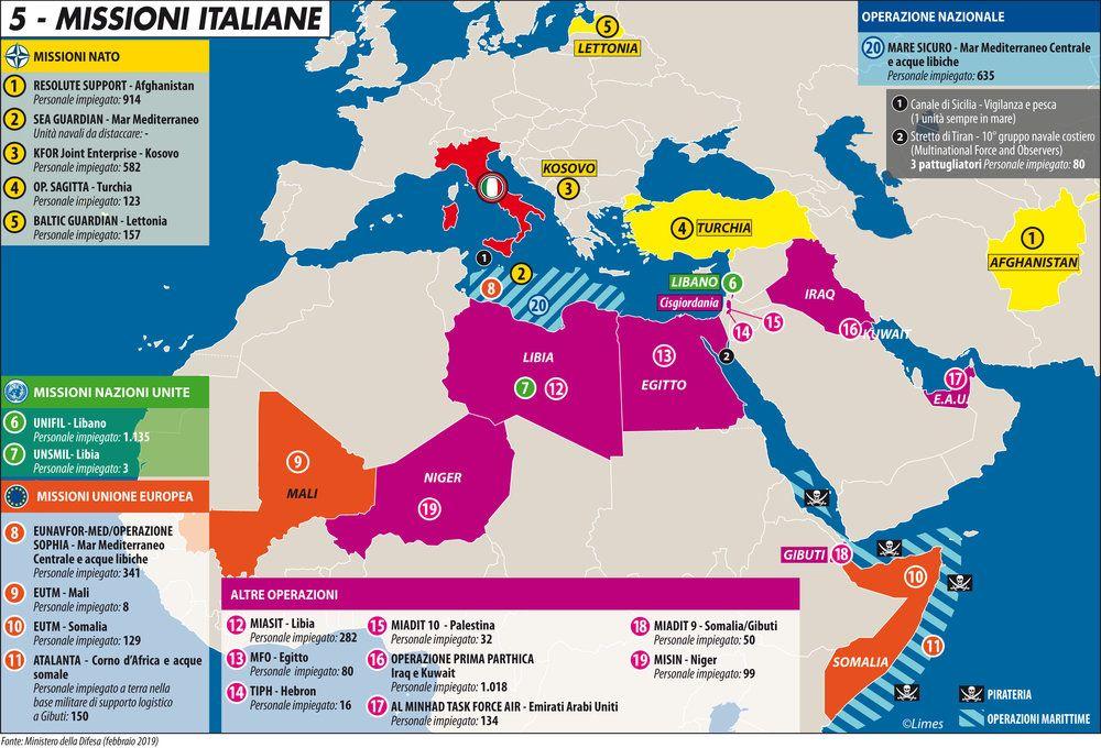 missioni italiane