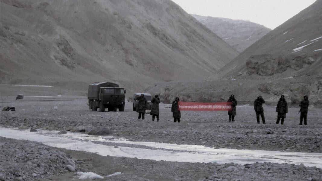 soldati cinesi confine cina india