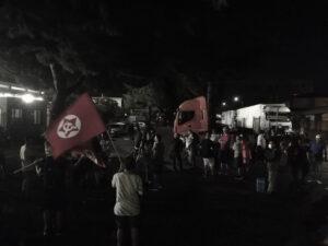 Presidio del SI Cobas davanti alla sede della TNT di Peschiera Borromeo del 23 luglio