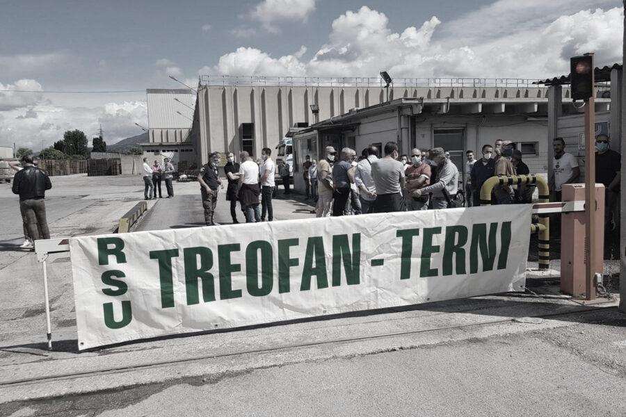 Sciopero Treofan Terni