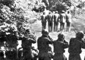 Fucilazione partigiani slavi