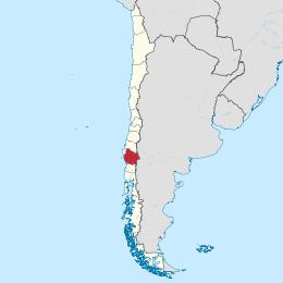 Araucania in Cile