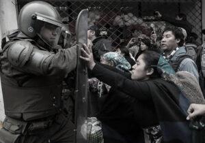 Scontri Carabineros Mapuche