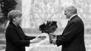 Lukashenko Merkel