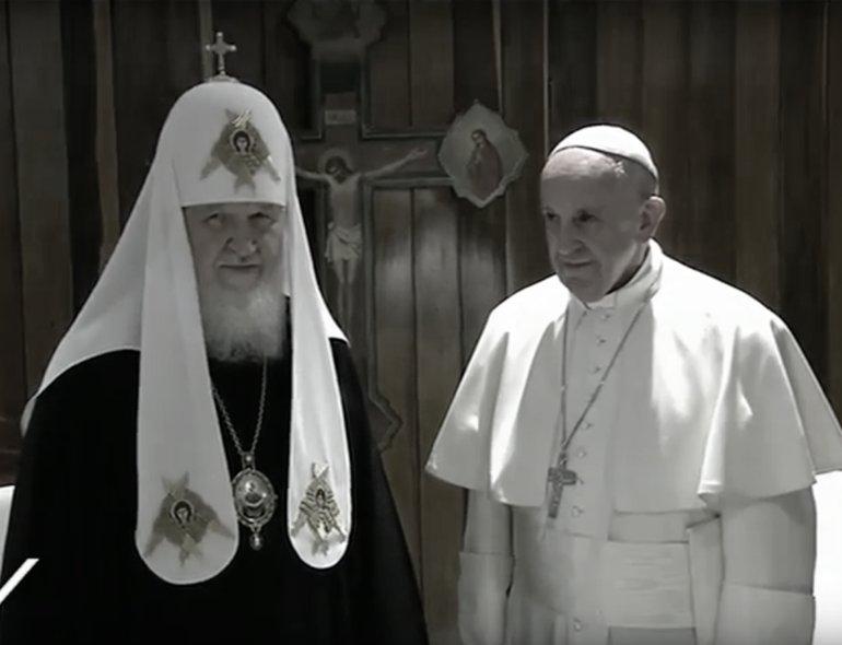 Papa Francesco e il Patriarca Kirill