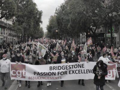 Mobilitazione CGT Parigi