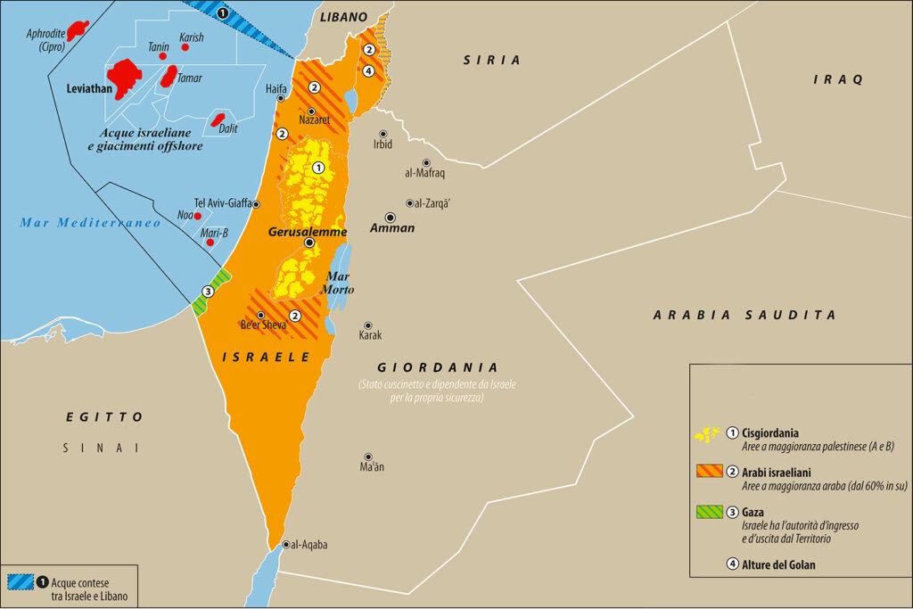 israele e territori occupati