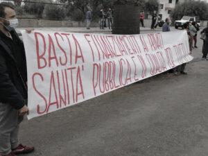 Protesta Sanità Calabria