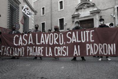 Manifestazione Lavoratori dello spettacolo Roma