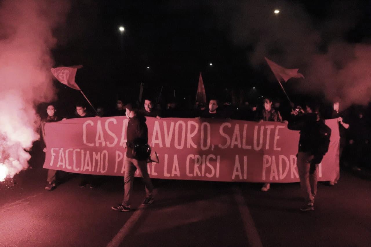 Manifestazione Roma 7 novembre