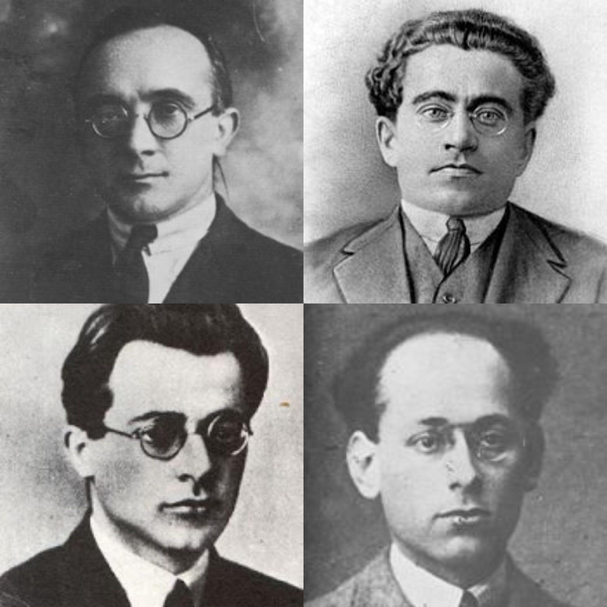 Tasca, Gramsci, Togliatti e Terracini