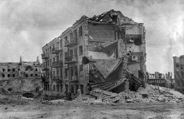 """armata rossa vince stalingrado - La """"casa di Pavlov"""""""