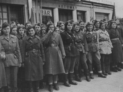 Partigiane della Dalmazia a Spalato nel 1944