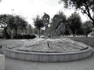 Roma monumento alle vittime delle foibe