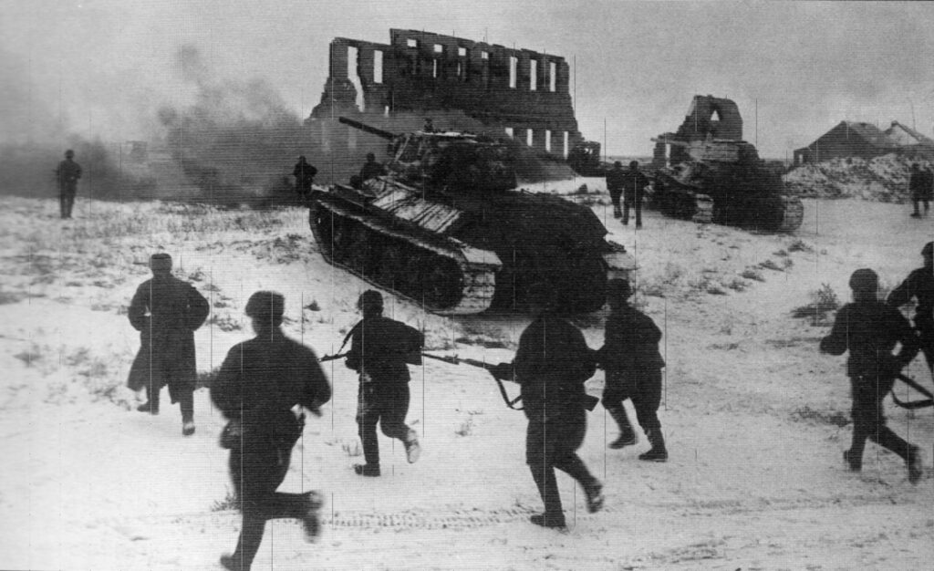 armata rossa vince stalingrado - Soldati sovietici durante la battaglia di Stalingrado