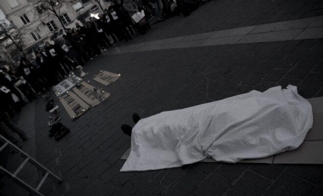 Manifestazione per le vittime del conflitto sociale in Colombia