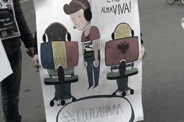 Sciopero Almaviva