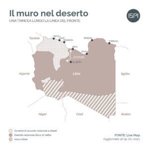 Libia, situazione militare al 19 gennaio 2021