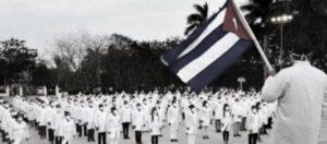Personale sanitario Cuba socialista