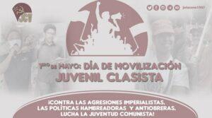 Dichiarazione congiunta delle gioventù comuniste del Sud America sul Primo Maggio