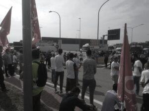 2021 giugno 18 sciopero nazionale logistica a Bologna