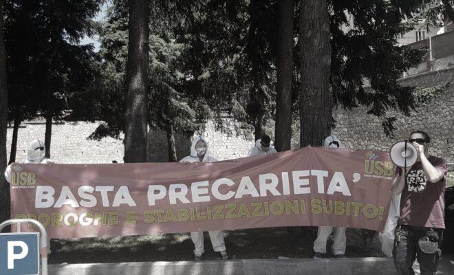 Calabria sanitari covid basta precarietà