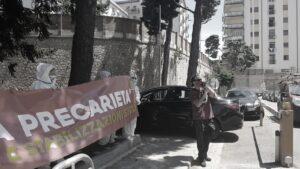 Calabria sanitari covid basta precarietà_striscione
