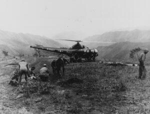 Elicottero dei Marines_Guerra di Corea