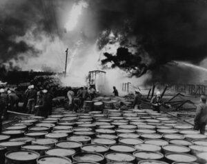 Esplosione durante la Guerra di Corea
