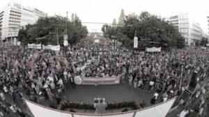 Grecia KKE Ancora manifestazioni di massa contro la legge antioperaia