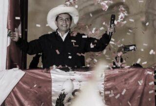 Pedro Castillo candidato di Peru Libre