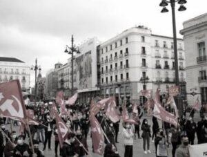 Congresso del PCTE_ dibattendo sul capitalismo spagnolo