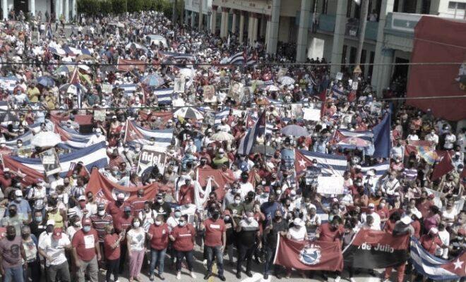 manifestazioni cuba socialista